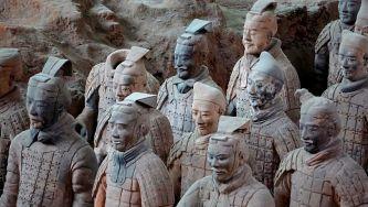 Descoberta do exército de terracota na China