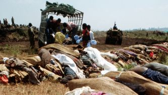O genocídio no Ruanda