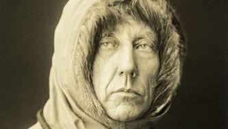 A chegada de Roald Amundsen ao pólo sul