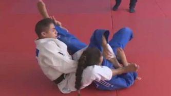 Judo: os combates no chão