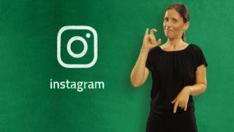 Uma aula sobre redes sociais em Língua Gestual