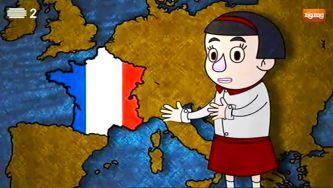 Crianças no Mundo: em Paris, com Pauline