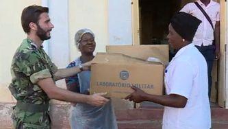 Laboratório militar enviou ajuda para Moçambique