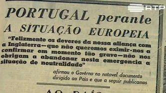 Portugal no princípio da II Guerra Mundial