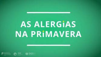 Primavera, polén... e alergias