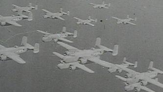 O poder aéreo dos Aliados