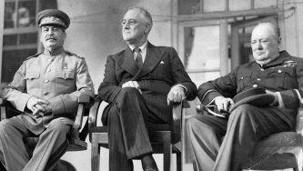 As conferências Aliadas do Cairo e de Teerão