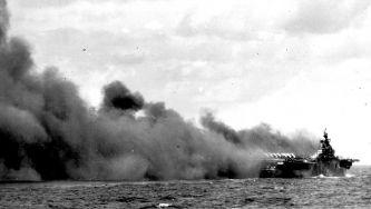 O ataque dos kamikazes