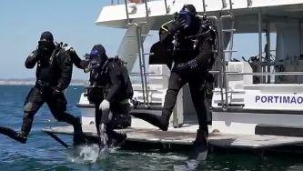 Barcos-berço, o maior recife artificial da Europa