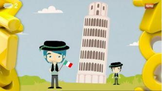 Porque é que a torre de Pisa está inclinada?
