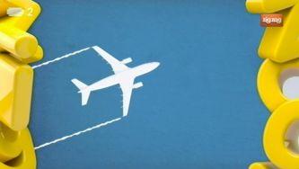 Porque é que os aviões deixam rasto?