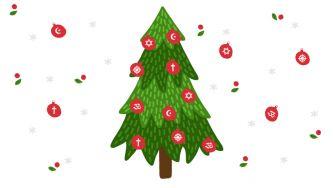 O Natal é festejado por todas as crianças?