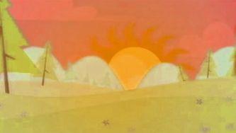 Porque é que o sol fica vermelho quando se põe?