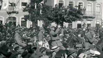 A revolução de 1926 em fotografias