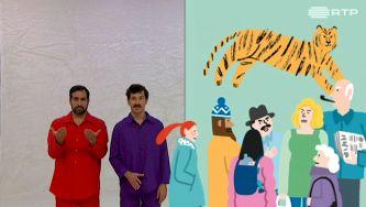 Os Tigres na Parede