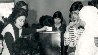 Fotografias das eleições para a Constituinte