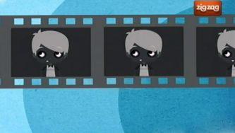 Porque é que o cinema antigo não tem cores?