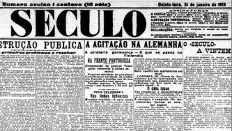 """A história do jornal """"O Século"""""""