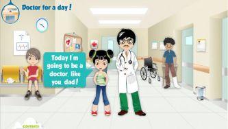 Médico por um dia - Doctor for a day