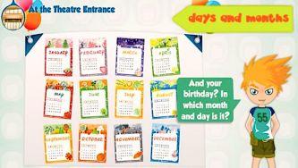 Dias e Meses - Days and Months