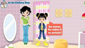 Na loja de roupa - At the clothing shop