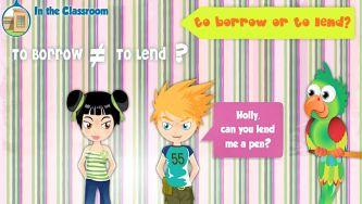 O verbo emprestar - To borrow and to lend