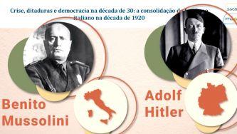 A consolidação do fascismo na Europa dos anos 30 do século XX