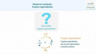 O que são fracções equivalentes?