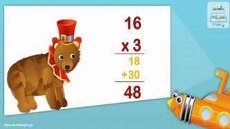 O algoritmo da multiplicação
