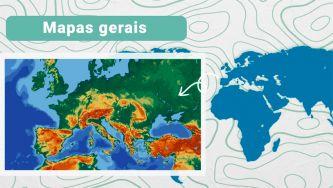Cartografia: elementos dos mapas