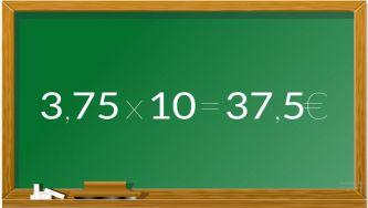 Multiplicar e dividir dízimas por 10, 100