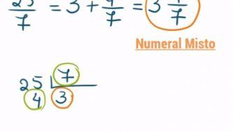 Números racionais: numeral misto