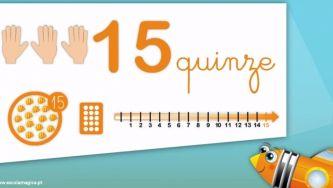 Números naturais: o quinze