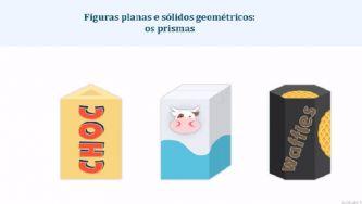 Figuras planas e sólidos geométricos : os prismas