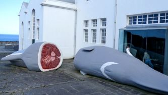 Museu da Fábrica da Baleia do Boqueirão, na ilha das Flores