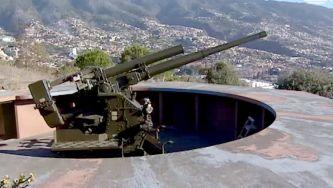 Peças antiaéreas da Madeira da II Guerra Mundial