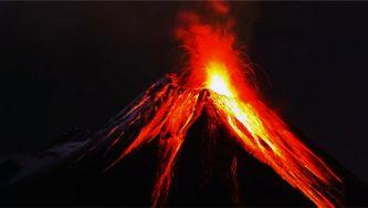 Atividade vulcânica principal