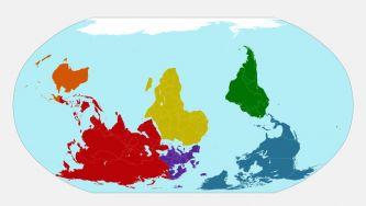 A deriva dos continentes