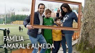 Família Amaral e Almeida, recomeçar com filhos