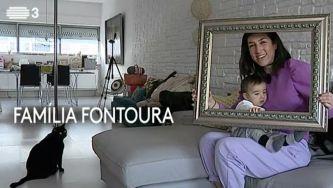 Os Fontoura, uma família monoparental